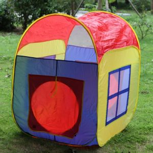 13198025-33.86 X 33.86 X 41.34in Children Games House Tent Mixed Colors pictures & photos