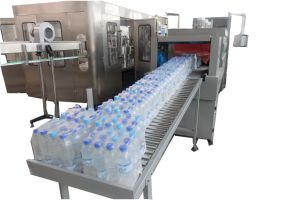 Automatic Plastic PE Film Beverage Pet Bottle Shrink Bottle Wrap Packing Machine Equipment pictures & photos