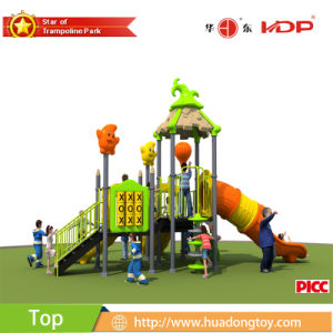Factory Sell Preschool Wooden Childrens Outdoor Playground pictures & photos