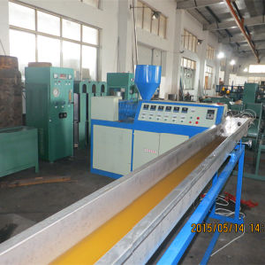 Dn8-Dn32 Corrugated Metal Hose PE Coating Machine pictures & photos