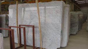 Carrara White Marble, Marble Slab, Polished Slab for Flooring pictures & photos