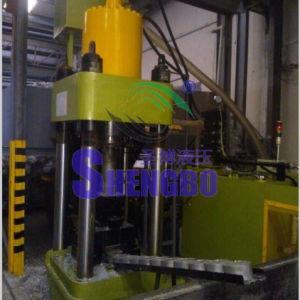 Four Column Aluminum Scrap Briquetting Press Machine with Ce pictures & photos