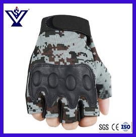 Outdoor Combat Tactical Half Finger Gloves (SYSG-1892) pictures & photos