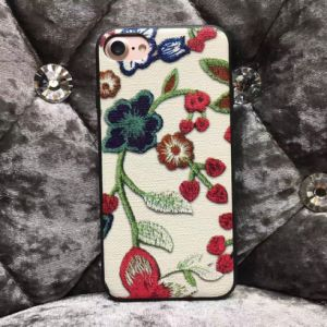 Competitive Price 3D Flower Printing Mobile Phone Case for iPhone pictures & photos