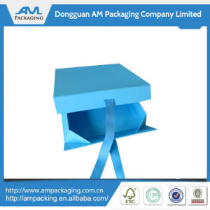 Wholesale Silk Ribbon Box for Wedding Invitations Fancy Return Gift Boxes pictures & photos