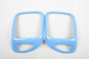 Auto Accessory ABS Material Blue Style Rear Lamp Cover for Renegade Model (2PCS/SET)
