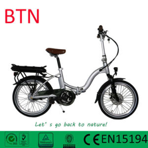 2017 New Electric Folding Bike with 20 Inch Rim pictures & photos
