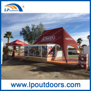 10X14m Top Double Peak Star Tent Used for Advertising pictures & photos