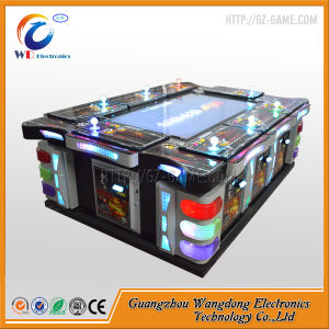 Amusement Casino Arcade Fishing Game Machine with Bill Acceptor pictures & photos