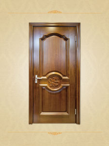 Carved Antique Cherry Wood Interior Doors pictures & photos