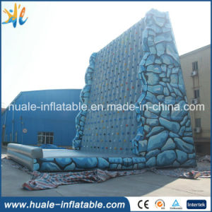 2016 New Design Colorful Inflatable Climbing Walls, Inflatable Rocker Climbing Wall for Sale