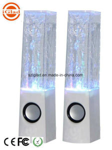 Blue Tooth Water Dancing LED Light Cuboid Wireless Computer Speaker pictures & photos