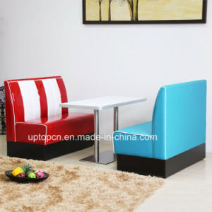 Modern Hot Sale Style Cafe Booth Seating 1950s for Sale (SP-CT833) pictures & photos