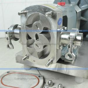Sanitary Cake Butter Shampoo Cream Cam Rotor Transfer Pump pictures & photos