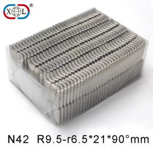 Segment Shape Motor Neodymium Rare Earth Permanent Magnet pictures & photos