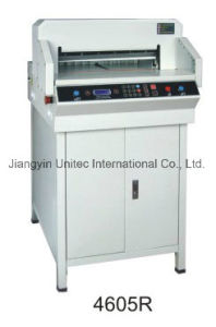 4605R Programmable Paper Cutter with LCD Display pictures & photos