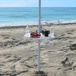 ABS, High Quality, White, Beach Umbrella Table pictures & photos