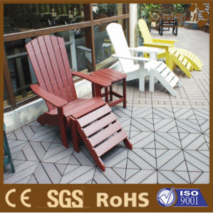 Public Furniture Polystyrene Wood Table and Chairs for Rest pictures & photos