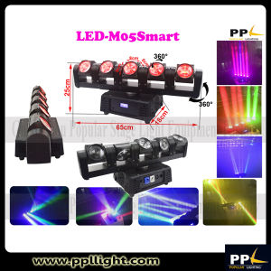 5 Heads Rogue RGBW 4in1 LED Moving Head Bar Light pictures & photos