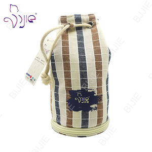 Decorative Cotton Drawstring Storage Bag for Travel pictures & photos