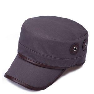 Men′s Solid Colour Flat Top Hat pictures & photos