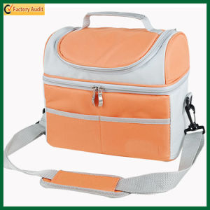 Popular Double-Deck Diverse Color Insulated Cooler Bags (TP-CB373) pictures & photos
