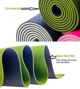 China Factory Direct Supply High Quality NBR Exercise Yoga Mat pictures & photos