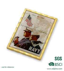 Cut out Souvenir Challenge Coin for Mathies Nco Academy pictures & photos