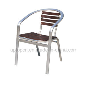 Metal Restaurant Armrest Cafe Chair for Outdoor (SP-OC709) pictures & photos