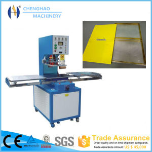 Alibaba Recommend 10kw Single Head Price High Frequency Welding Machine for A4/A5 File Folder with Ce/ISO Certificate pictures & photos