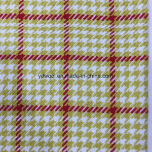 Check Houndstooth Wool Fabric for Overcoat pictures & photos