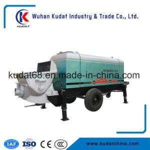 Tralier Concrete Conveying Pump Hbt60sea pictures & photos