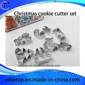Low Price Customized Stainless Steel Cookie Mold with Tin Box pictures & photos