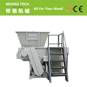 HDPE PVC plastic thick pipe shredding machine pictures & photos
