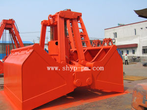 Motor Hydraulic Dual Scoop Grab pictures & photos
