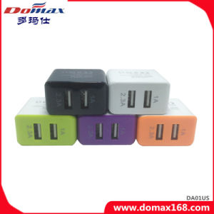 Mobile Phone Wall Plug Micro 2 Dual USB Charger pictures & photos