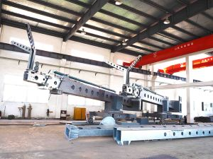 Telescopic Jib Building Cleaning Machine Bmu