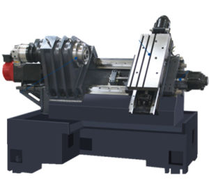 Automatic Horizontal Slant Bed CNC Lathe Machine, Economic CNC Lathe Machine E35 pictures & photos