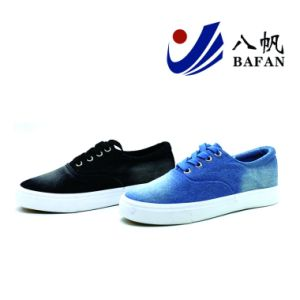 Washed Demin Upper Canvas Shoes Bf1701477 pictures & photos