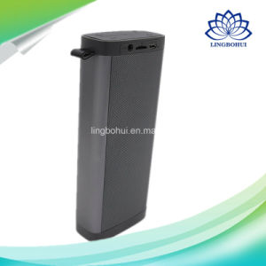 Outdoor Mobile Amplifier Aluminum Shell Digital Sound Box Professional Bluetooth Portable Mini Speaker with Hook pictures & photos