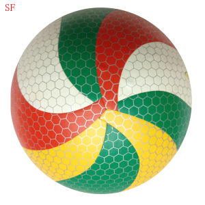 Custom Logo Promotion PVC Machine-Sewn Soccer Ball pictures & photos