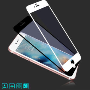 Full Covered HD Anti Fingerprint Silk-Screen Printing Tempered Glass Film for iPhone 6/6plus 7/7 Plus pictures & photos