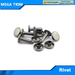 High Quality Metal Nti Brass Rivet for Bag pictures & photos