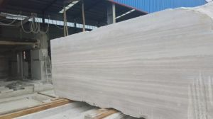 Wooden Grain White Marble Granite Marble pictures & photos