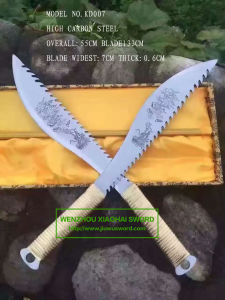 Angry Dragon Handmade Swords Glaive Swords for Real Practice Kd007 pictures & photos