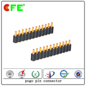 Gold Plated Brass Pogo Pin Connector for Outdoor Navigation pictures & photos