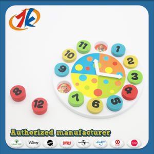 Educational Toy EVA Clock Toy for Kids pictures & photos