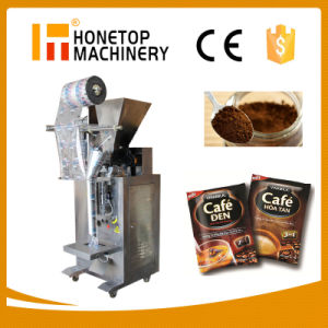 Auto Vertical Small Sachet Coffee Powder Packing Machine pictures & photos