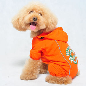 Pet Dog Supply Waterproof Raincoat Clothes pictures & photos