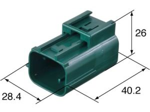 Stocked Sumitomo 6181-0511 6p Male Water Proof Auto Connector pictures & photos